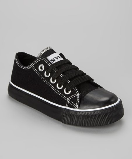 Black & White Trim Sneaker