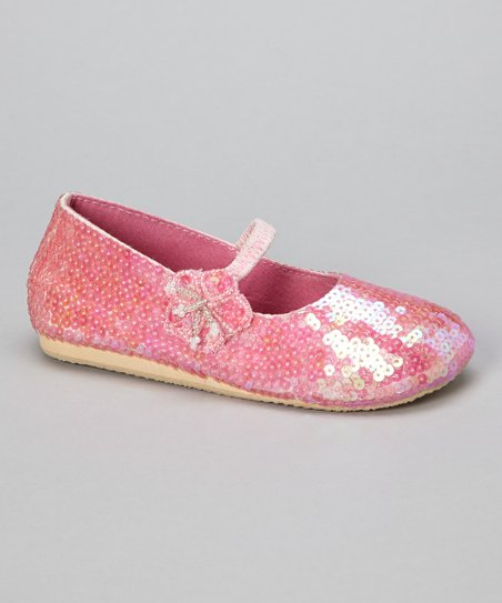 Rosy Pink Little-Flower Flat