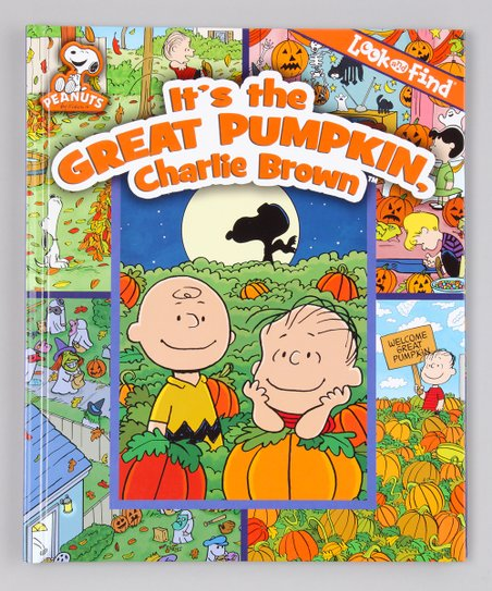 Look &amp; Find: Its the Great Pumpkin, Charlie Brown Hardcover