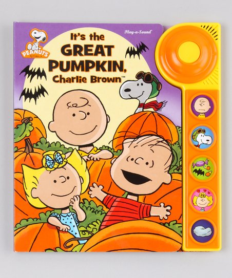 Its the Great Pumpkin, Charlie Brown Board Book