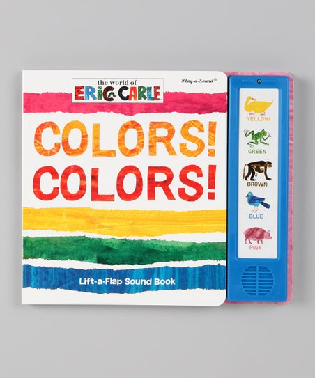 Colors! Colors! Board Book