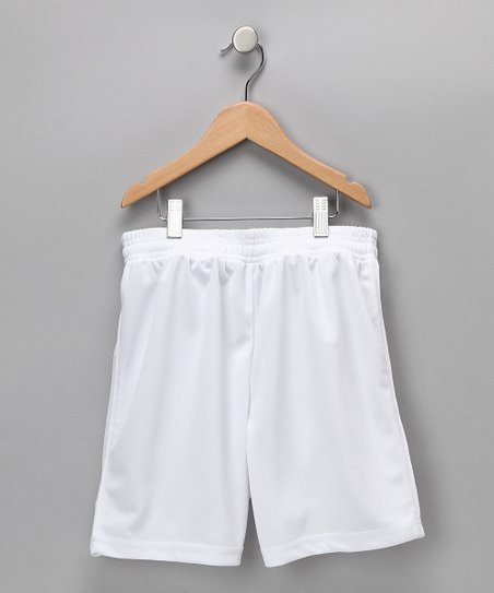 White Dynamo Shorts - Kids & Adult
