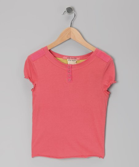 Punch Puff-Sleeve Henley