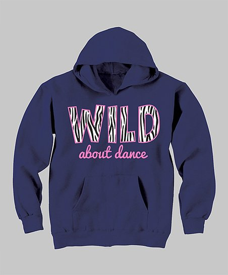 Navy 'Wild About Dance' Hoodie - Toddler & Girls