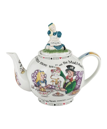 Alice in Wonderland 48-Oz. Teapot