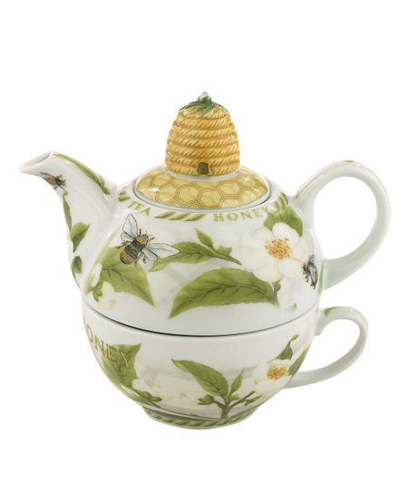 Cardew Design Tea Plant & Honey Bees Tea for One Set
