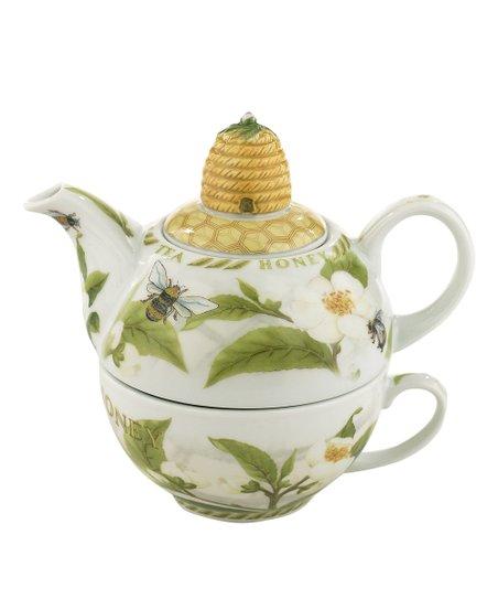 Cardew Design Tea Plant & Honey Bees Tea for One Set