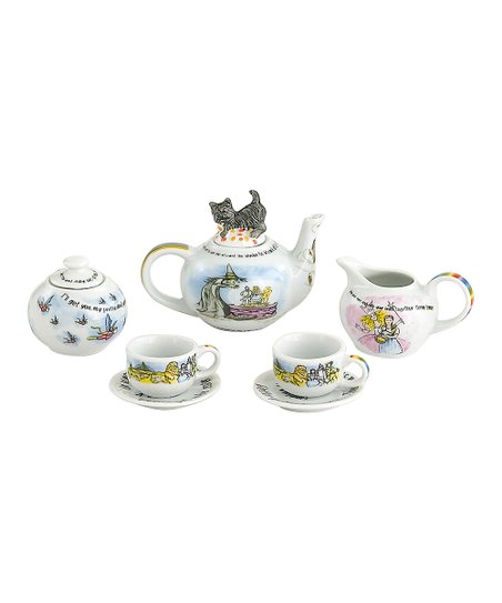 Wizard of Oz Miniature Collector's Tea Set