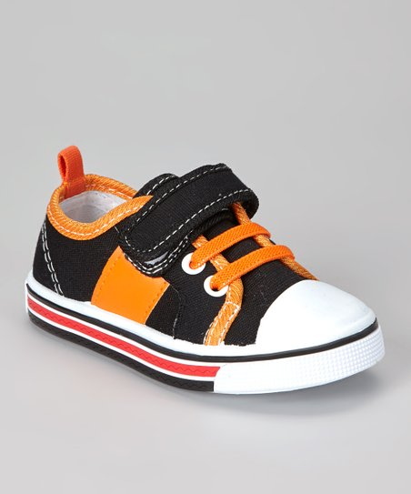 Black & Orange Sneaker