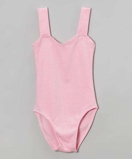 Light Pink Leotard – Toddler & Girls