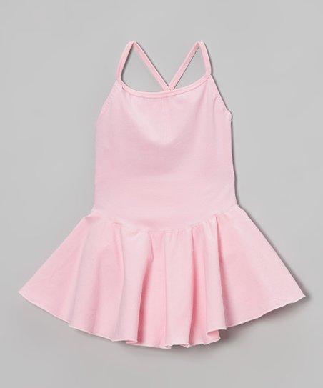 Light Pink Skirted Leotard – Girls