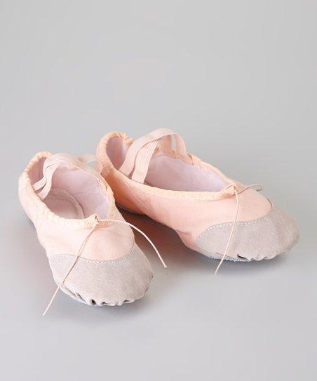 Light Pink Split-Sole Ballet Slipper