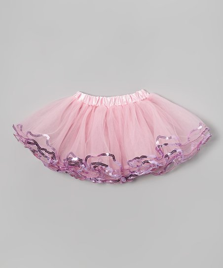 Light Pink Sequin Tutu – Toddler & Girls