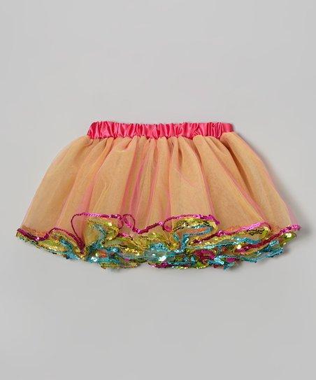 Rainbow Sequin Tutu – Toddler & Girls
