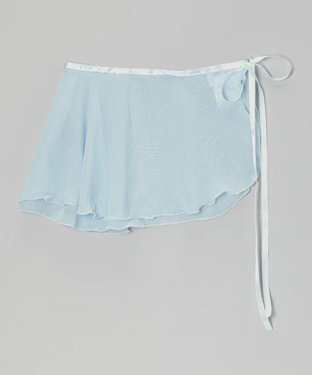 Light Blue Wrap Skirt – Infant, Toddler & Girls