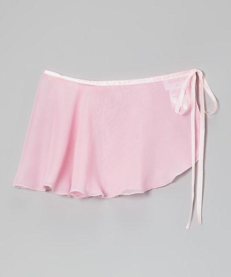 Light Pink Wrap Skirt – Infant, Toddler & Girls
