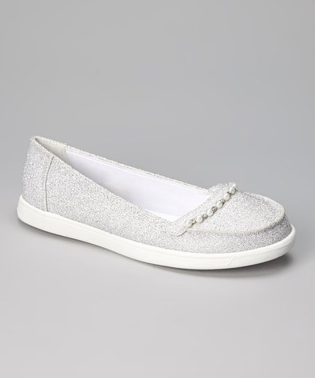 Silver Juliet Flat - Women