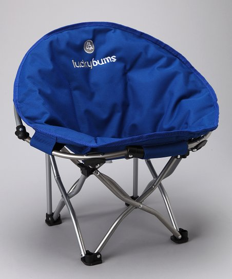 Blue Small Moon Camp Chair