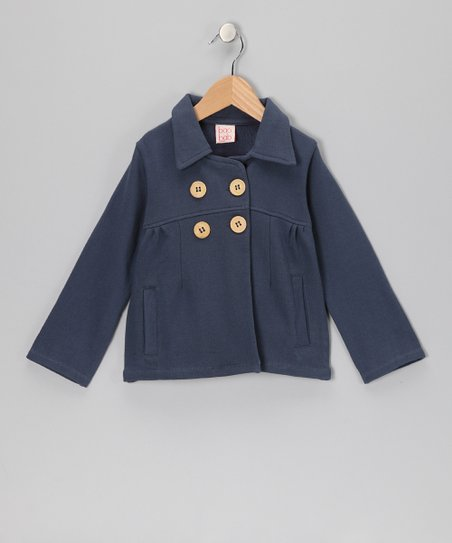 Navy Mod Jacket - Toddler & Girls