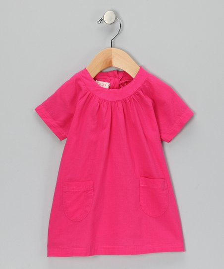 Pink Cherry Shift Dress - Infant