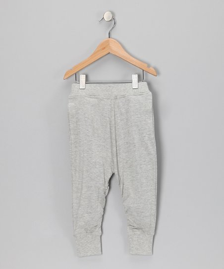 Gray Organic Sweatpants - Toddler & Kids