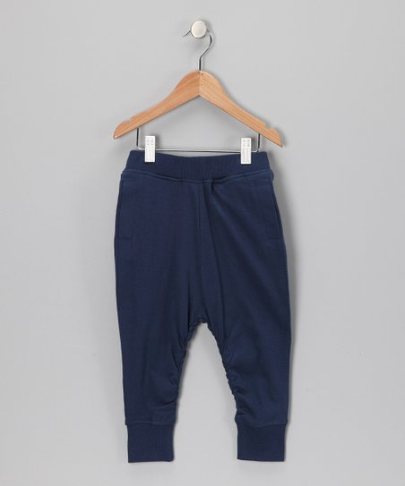 Navy Organic Sweatpants - Toddler &amp; Kids