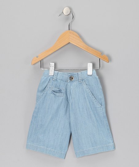 Light Wash Shorts - Toddler &amp; Boys