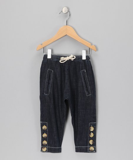 Midnight Wash Harem Jeans - Toddler & Boys