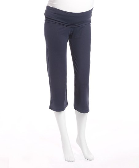 Night Maternity Capri Pants