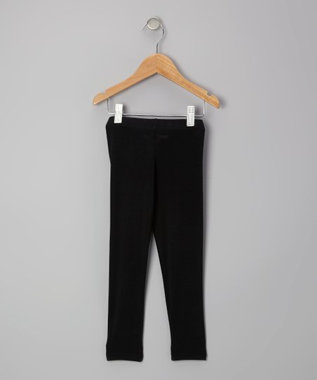 Black Leggings - Toddler & Girls