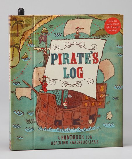Pirate&#039;s Log Journal Hardcover
