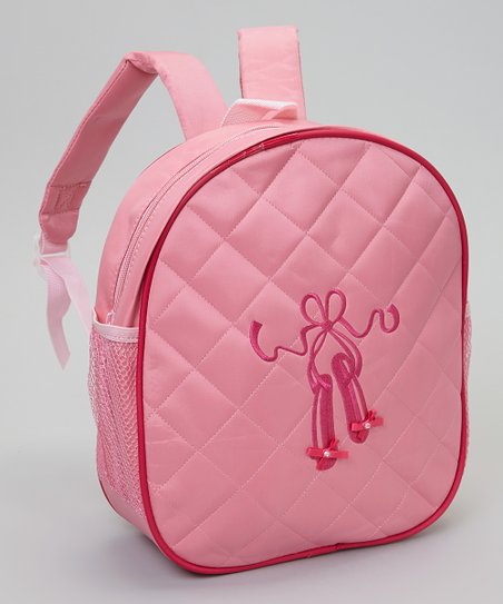 Pink Ballet Slippers Backpack