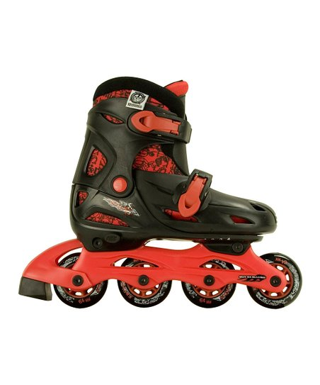 Black & Red Loyal In-Line Skate