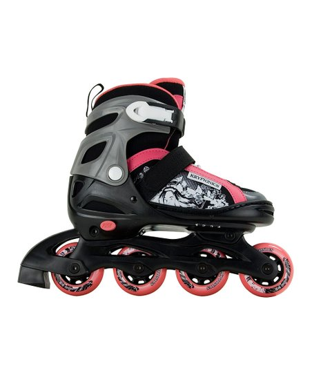 Black &amp; Pink Gypsy In-Line Skates