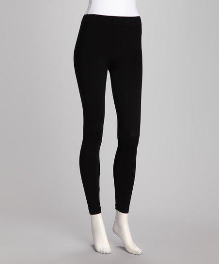 Black Everyday Ankle Leggings - Women