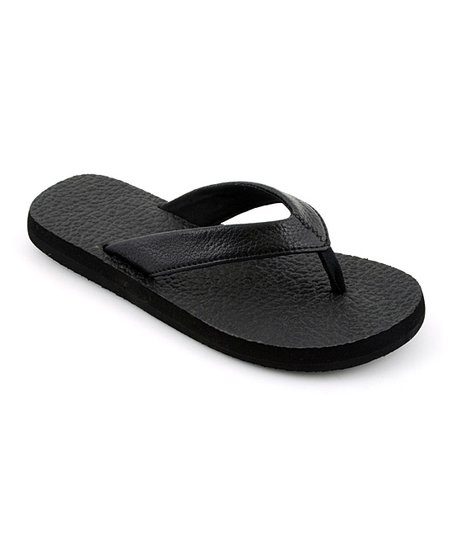 Black Exercise Flip-Flop