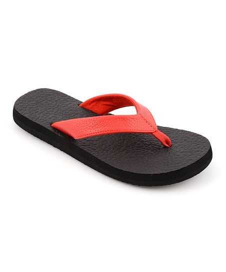 Red Exercise Flip-Flop