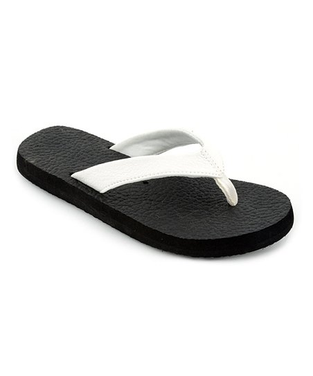 White Exercise Flip-Flop