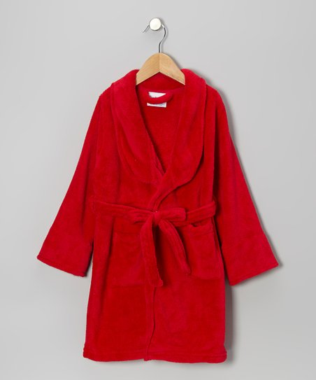 Red Bathrobe - Boys