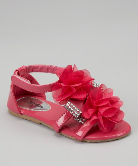 Fuchsia Petal Apple Sandal