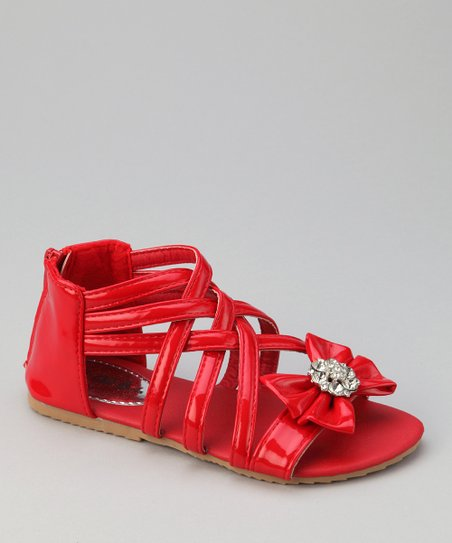 Red Apple-3 Bow Sandal