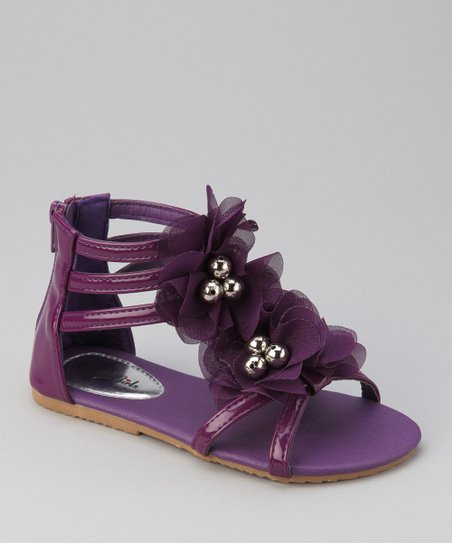 Purple Apple Gladiator Sandal