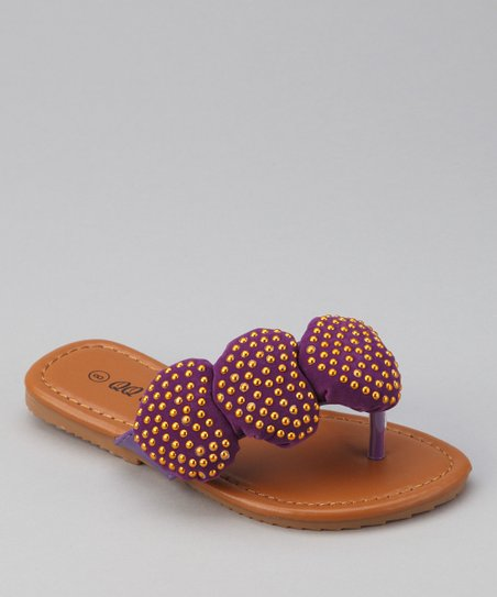 Purple Play 88 Heart Sandal
