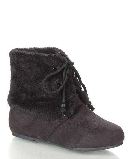 Black Wooler Boot
