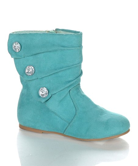 Sea Green Bemoton Boot