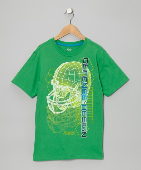Fern Green 'Defense Design' Tee - Boys