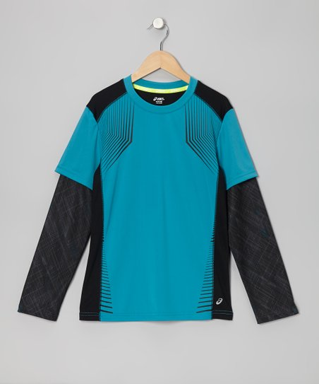 Caribbean Sea Motion Layered Top - Boys