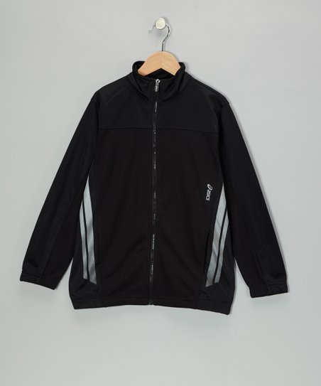 Black Reflective Jacket - Boys