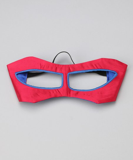 Red & Blue Hero Mask