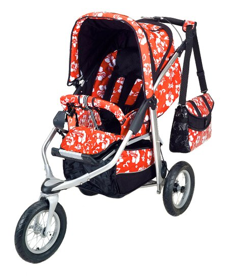 Mariposa Red Metamorphosis All-Terrain Stroller